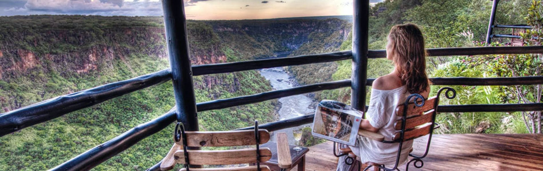 Gorges Lodge view