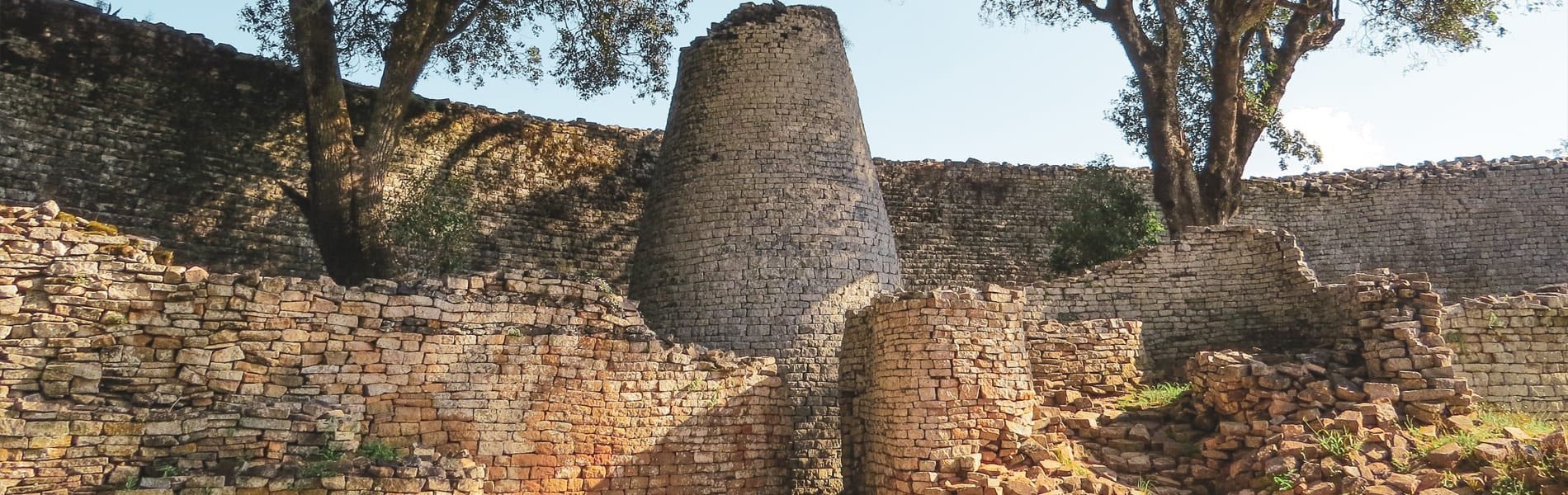 Great Zimbabwe Ruins tower