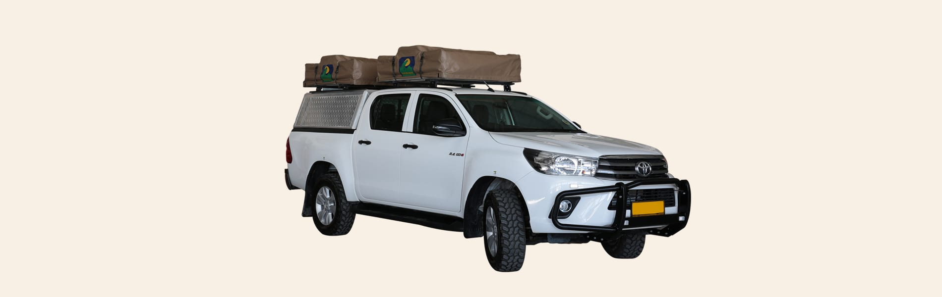 TOYOTA DOUBLE CAB CAMPING 4pax