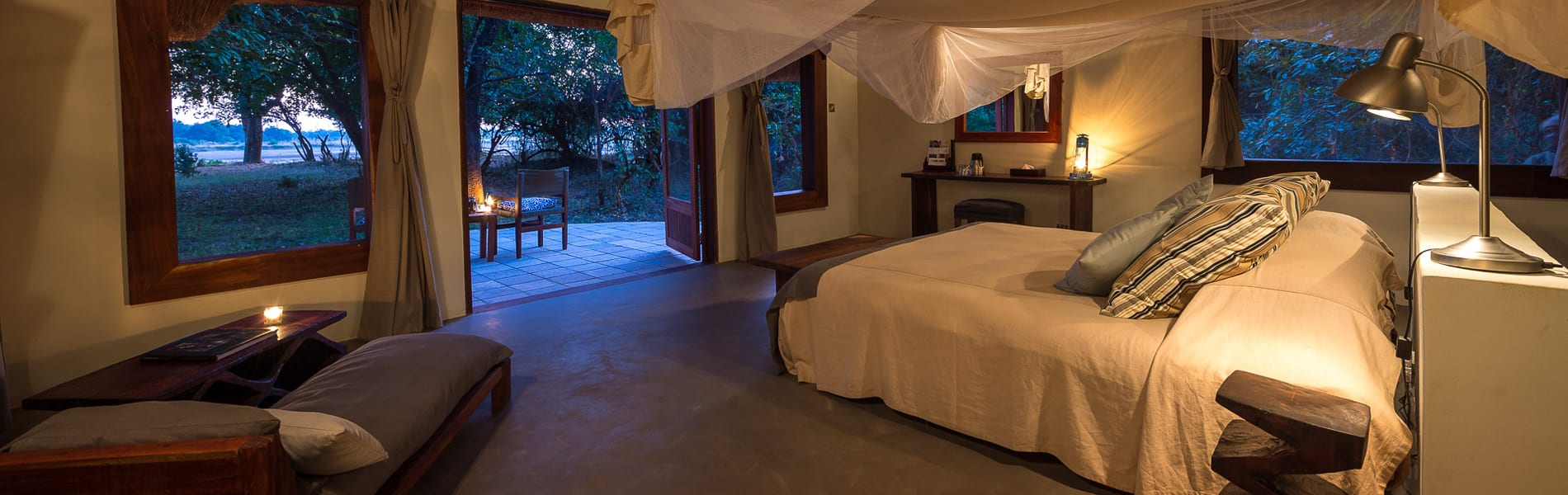 Luangwa River Camp room