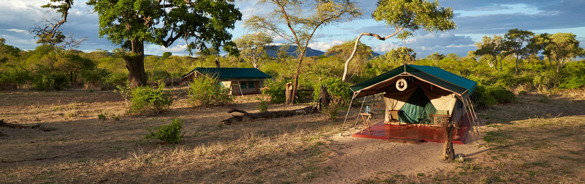 Ruaha accommodaties