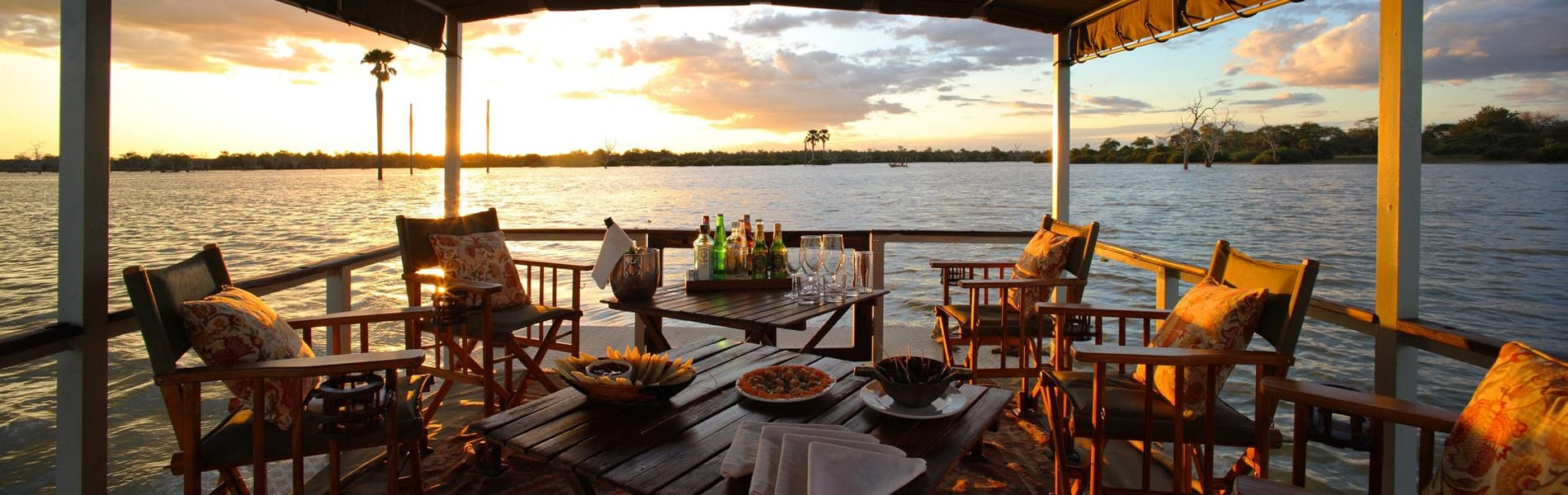 Siwandu Camp boot sundowner