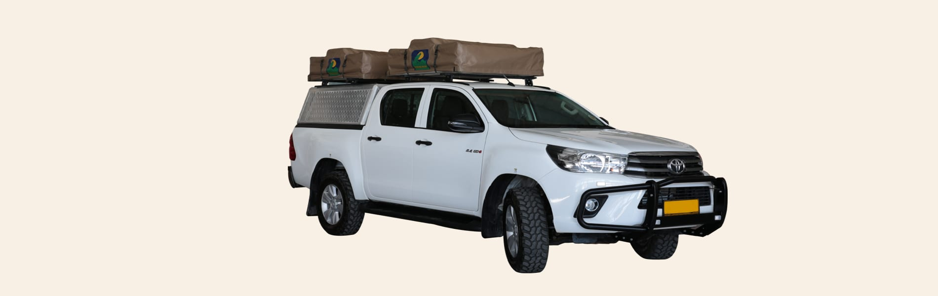 Toyota Double Can automaat camping 4 pax