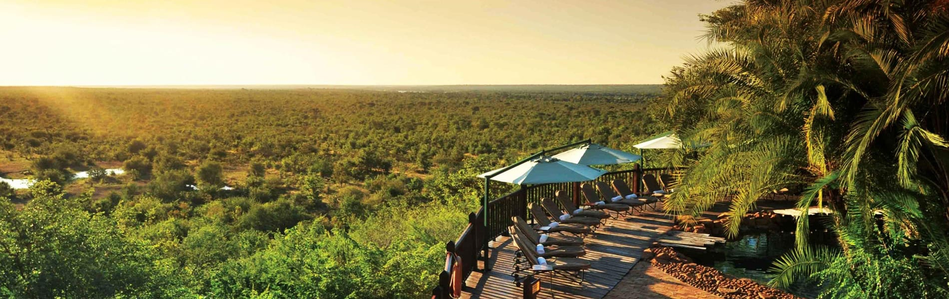 Victoria Falls Safari Lodge view