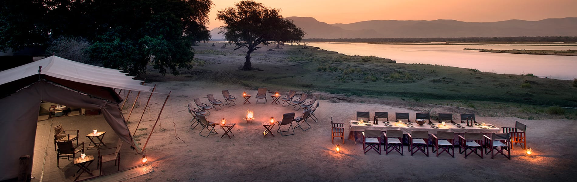 Zambezi Expeditions main area